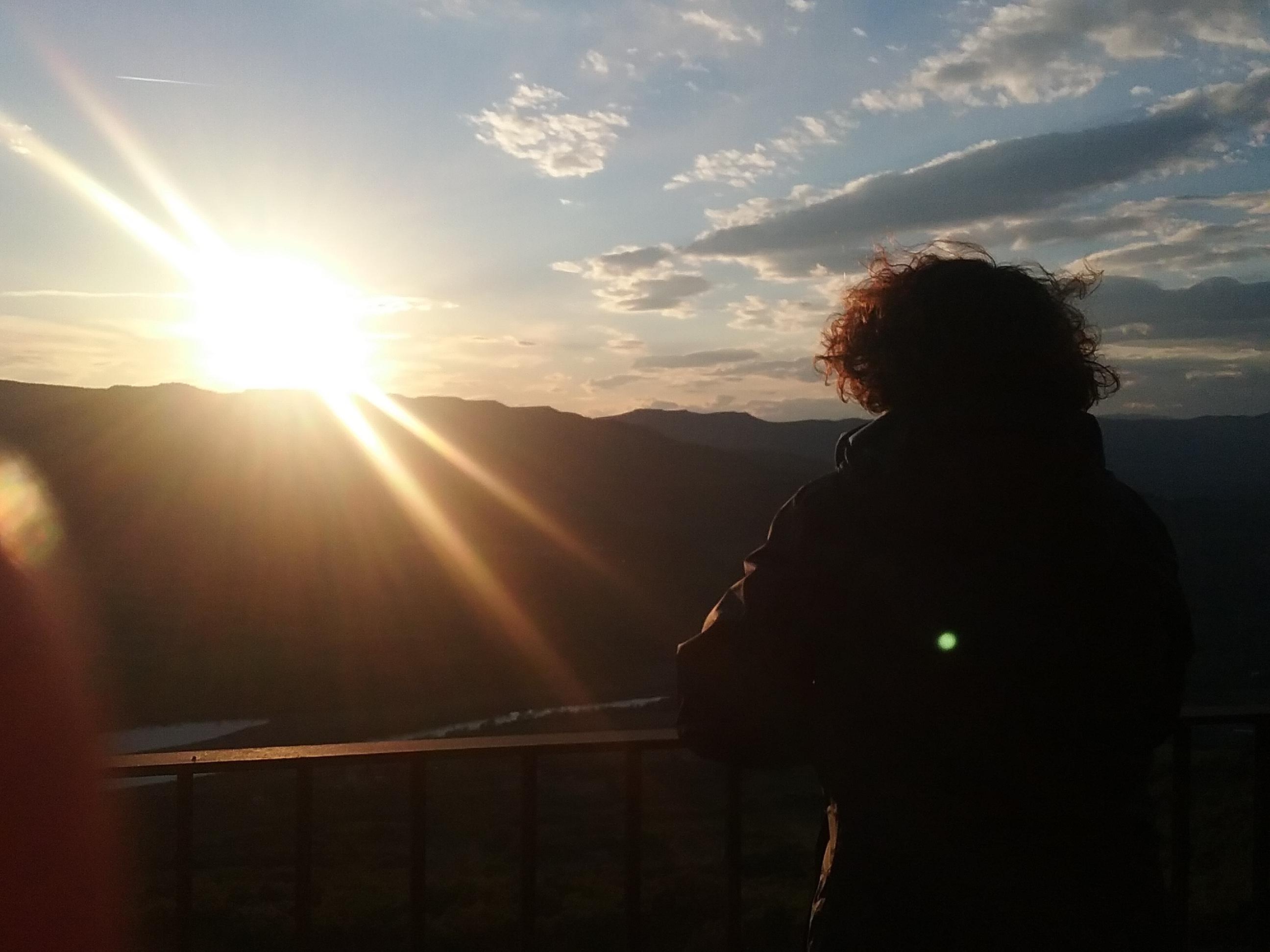 posta de sol Maig 2018 Lleida